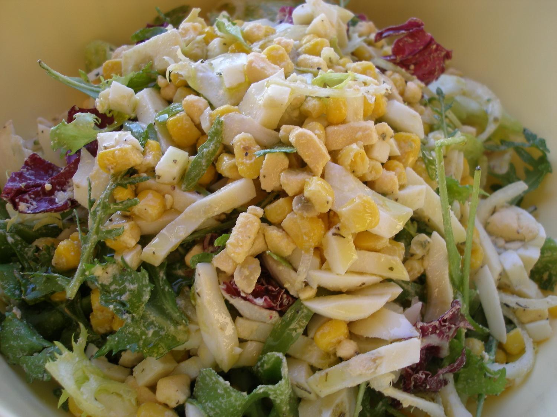 Салат с сухариками - 135 рецептов приготовления пошагово 23