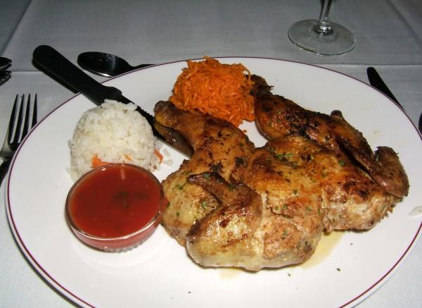 Цыпленок по грузински