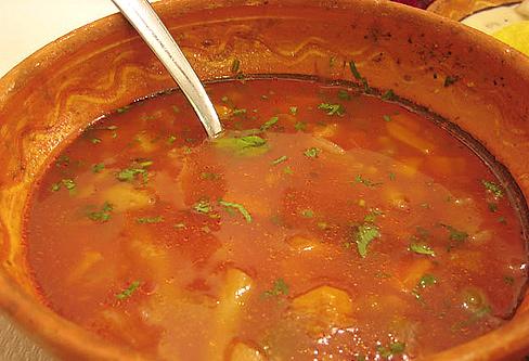 Румынский суп